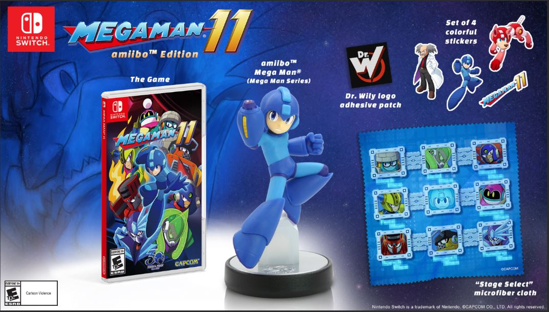 This GameStop-exclusive Mega Man 11 amiibo Edition is back up for $59.99. https://t.co/6MrguVT4gd https://t.co/QfWWV49dyU