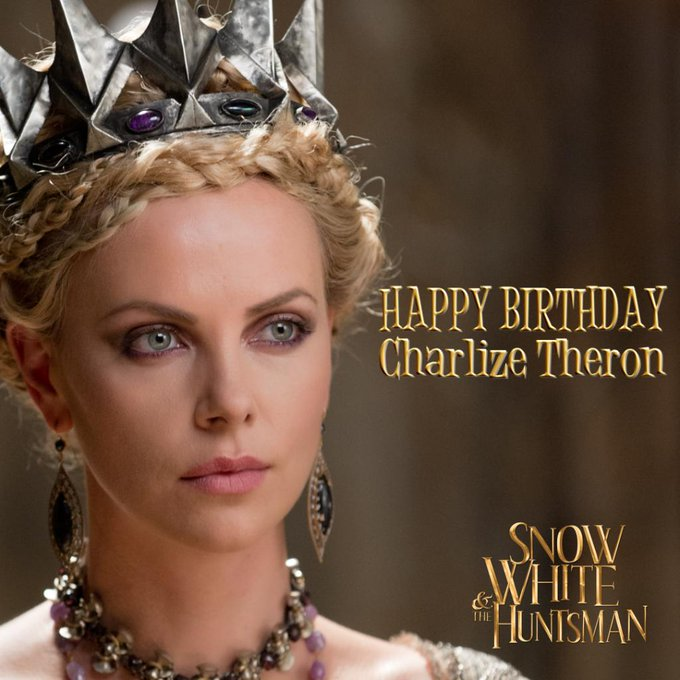 Happy Birthday, Charlize Theron ( ) !