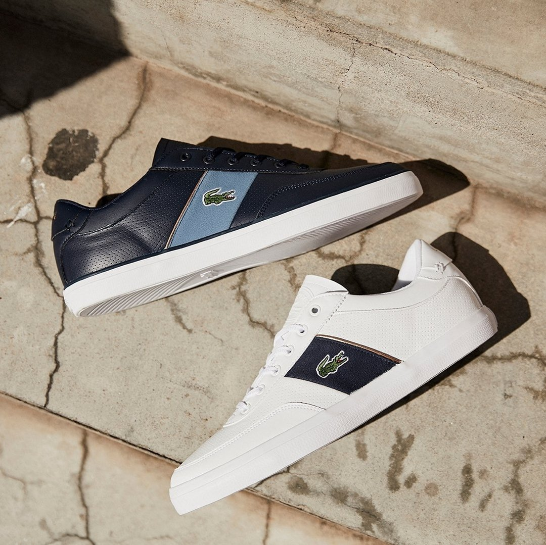 lacoste Court-Master 318 in Navy/Blue