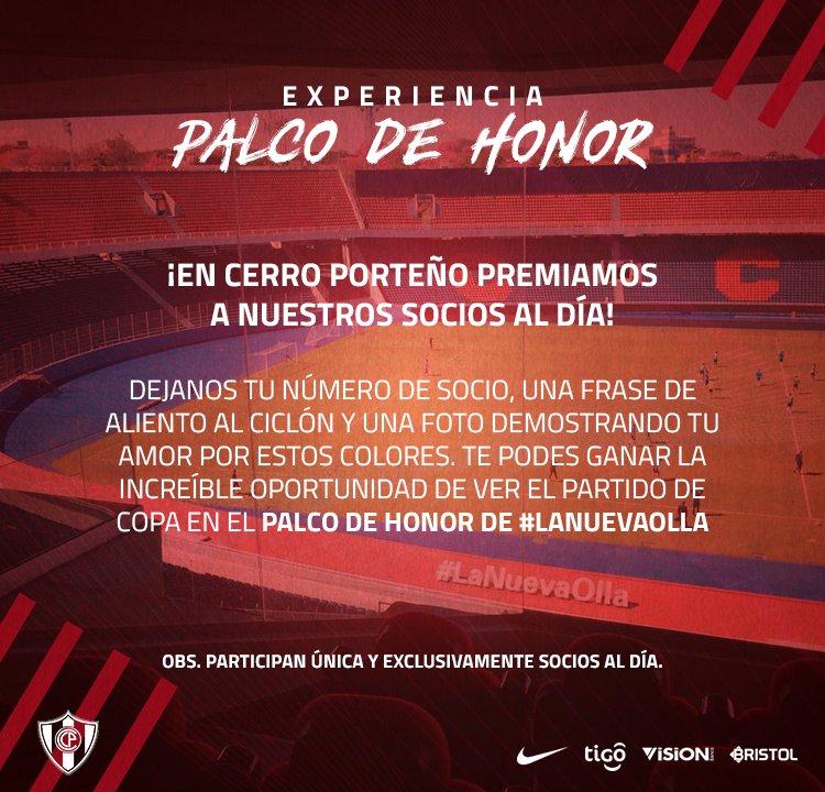 Club Cerro Porteño در توییتر En Cerro Porteño Premiamos A