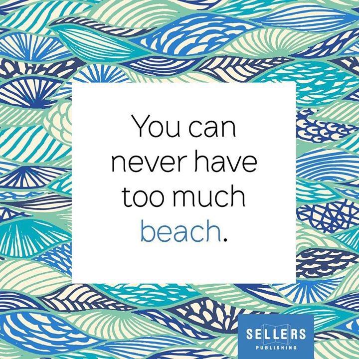 We couldnt agree more 🏖 #quoteoftheday #sellerspublishing #beachquotes #beachlife #beachallday #coastalliving