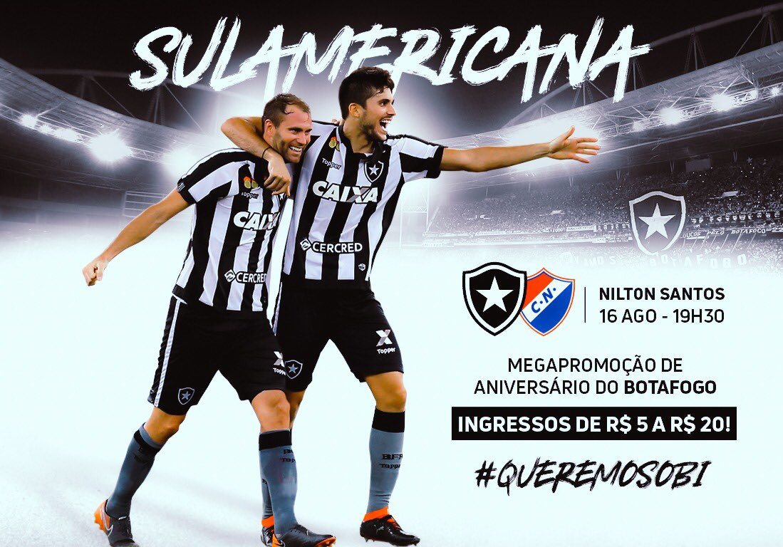 74830021d1c08 Domingo o Botafogo completa 114 anos do futebol! E o aniversário vem com  promoção para