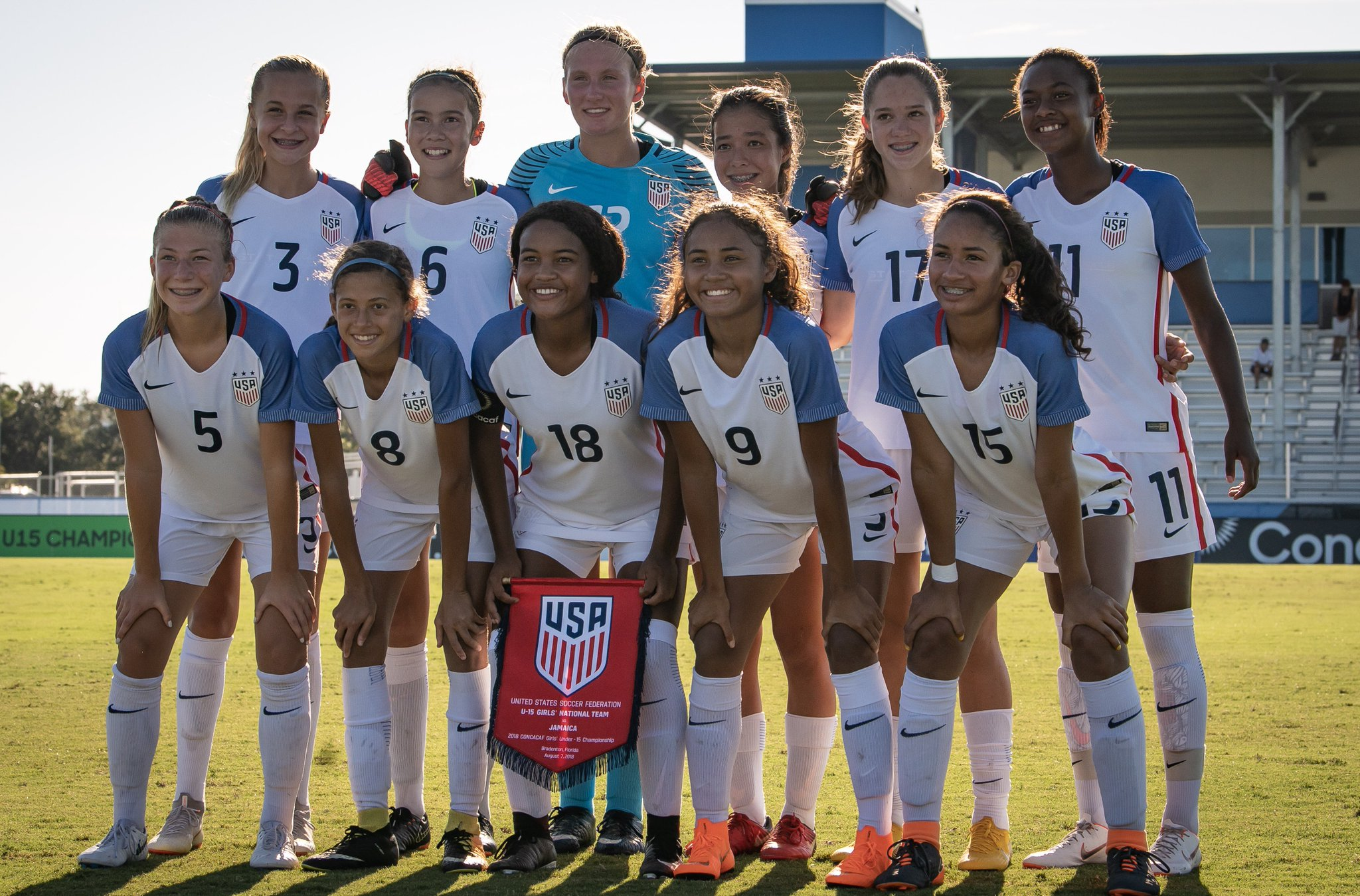 "u.s. soccer ynt on twitter: ""👏 for the u-15 #usgnt on its 8-0 win"