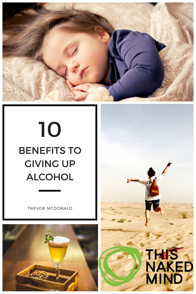 10 benefits to giving up alcohol