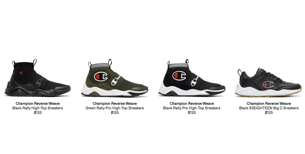 8ce50baee champion reverse weave shoes Sale