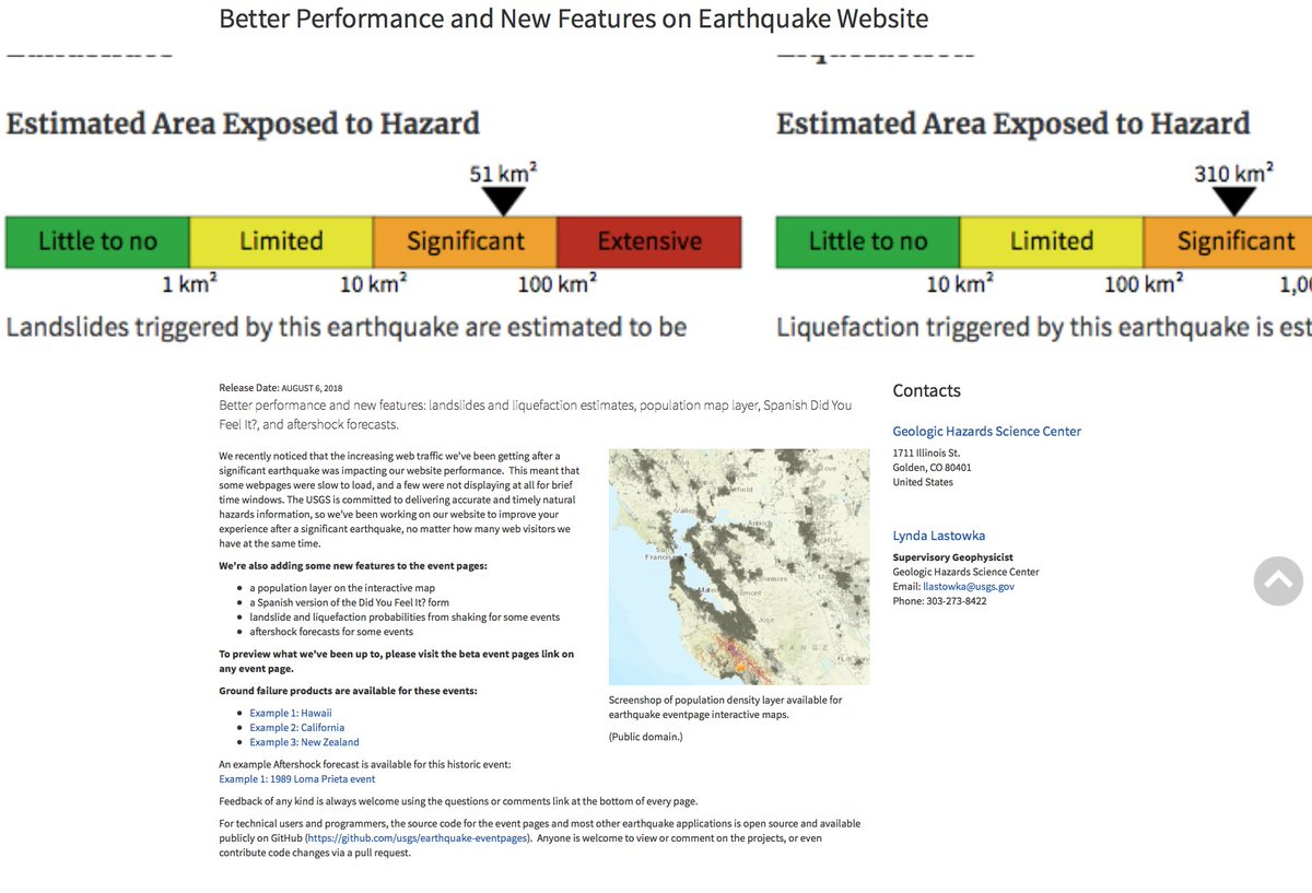 Scec On Twitter The Usgs Says New Products Available For