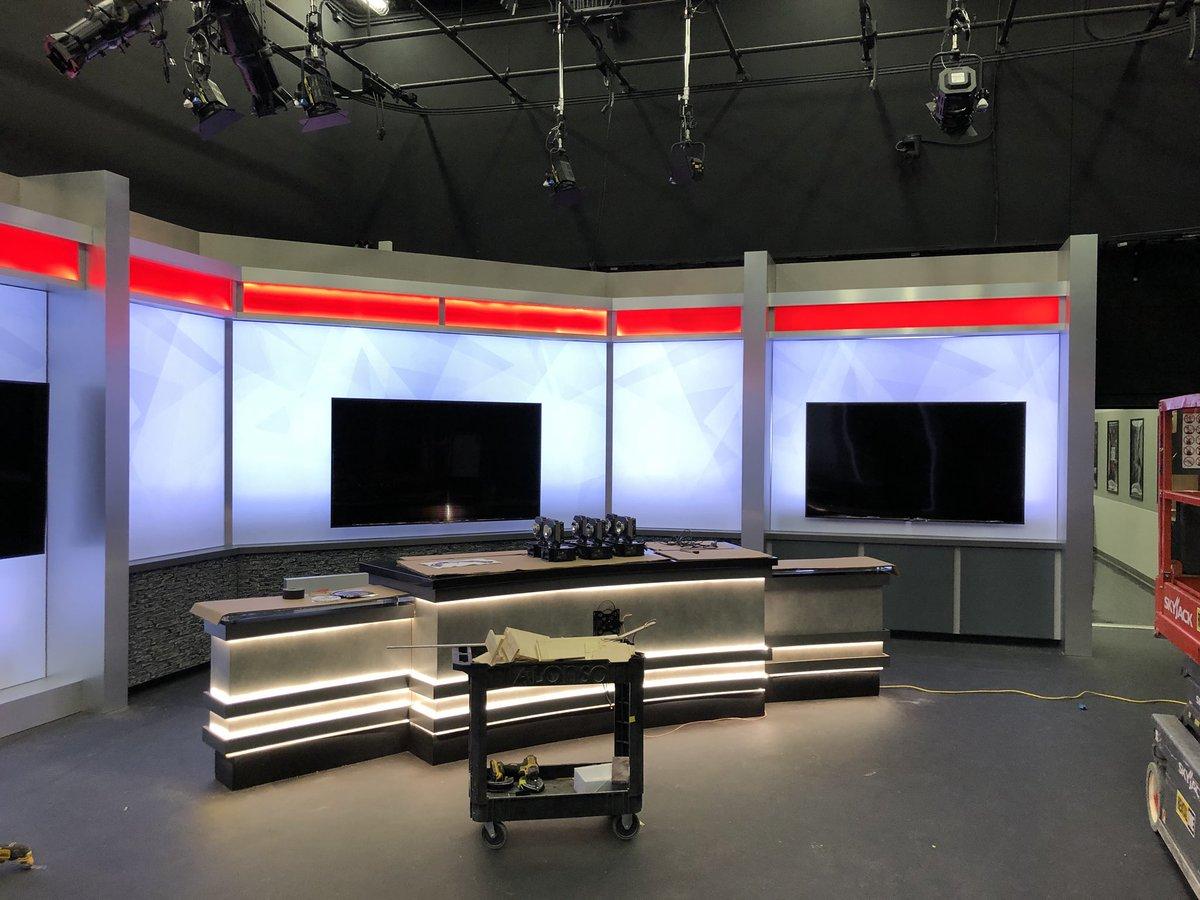 Tv studio furniture Table Design Youtube Nhstv On Twitter