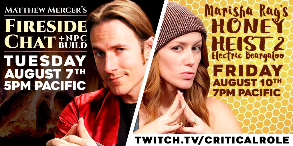 Spoilers C2E29] Matthew Mercer fireside chat and NPC build