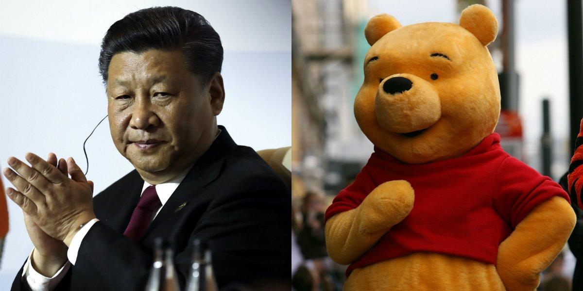 Winnie l'ourson toujours persona non grata en Chine à cause de sa ressemblance avec Xi Jinping https://t.co/yt7Ff1Um7F