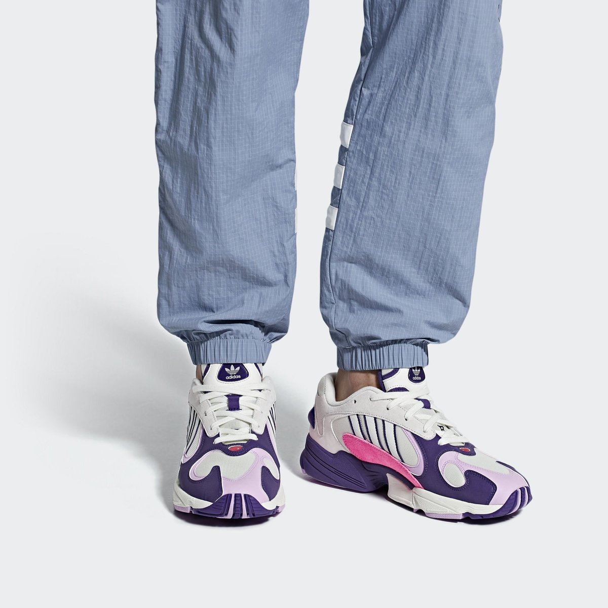 info for 8f6d2 38dd2 Official adidas images of the Dragon Ball Z x adidas Yung 1