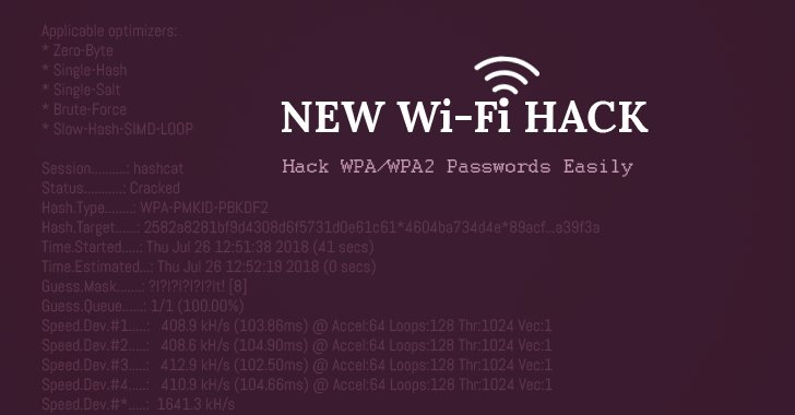 ⚡Wi-Fi password #hacking becomes easier with a new attack on WPA/WPA2 wireless network protocols  https://t.co/d1bMeekuO3  Here's how to hack Wi-Fi 📡#password (step-by-step) using PMKID that no longer requires attacker to wait for a complete 4-way handshake.