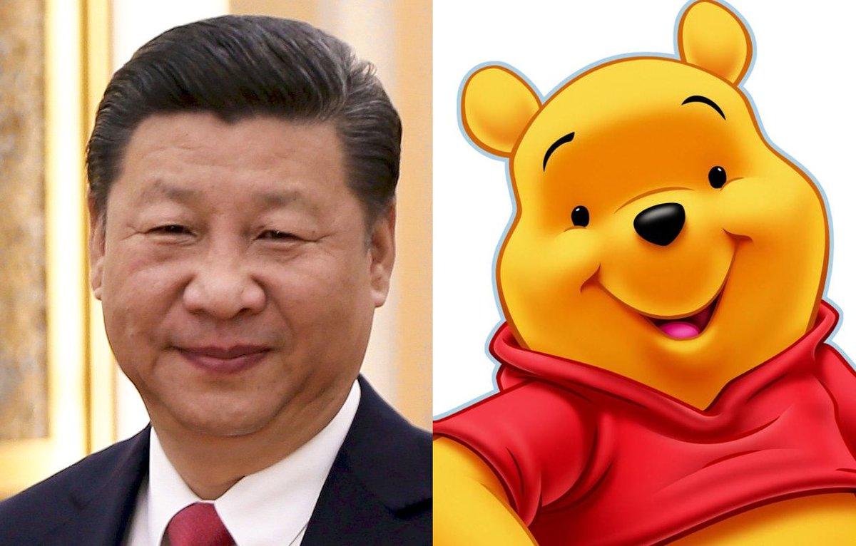 Winnie l'Ourson à nouveau censuré en Chine pour sa ressemblance avec Xi Jinping  ➡️ https://t.co/e2D9gQKsgD