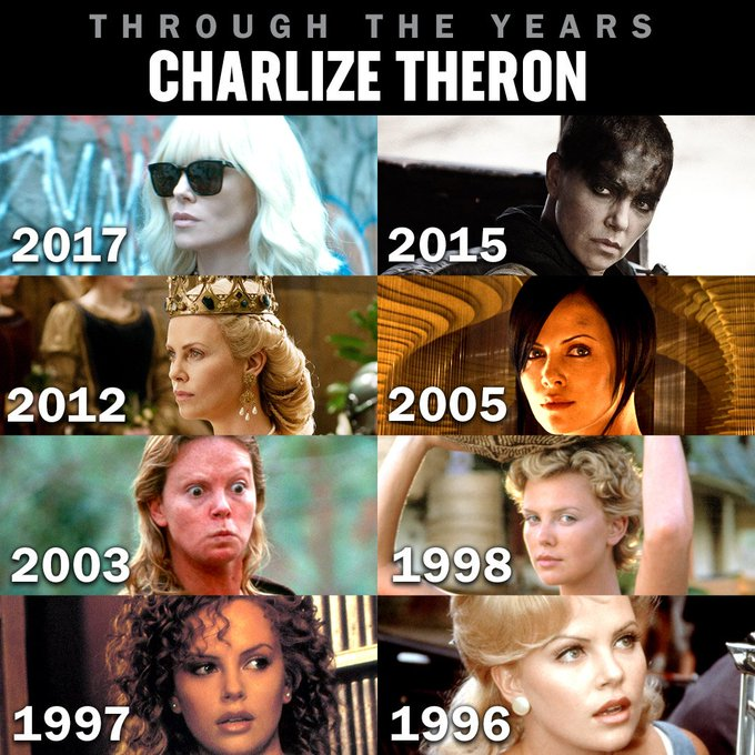 Happy birthday Charlize Theron! Which of her roles is your favorite?