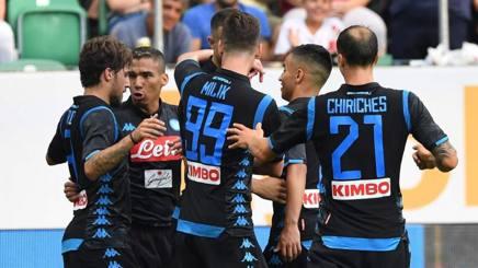 #Napoli, 3-1 al #BorussiaDortmund. Apre #Milik, chiude #Callejon, #Ancelotti può sorridere http://rosea.it/ca8bfc72XC #serieA #napoli  - Ukustom