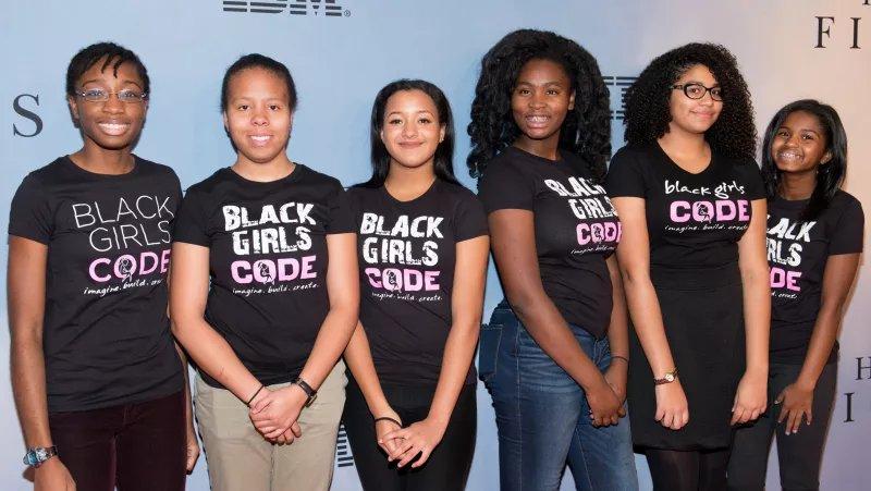 Wild black girls