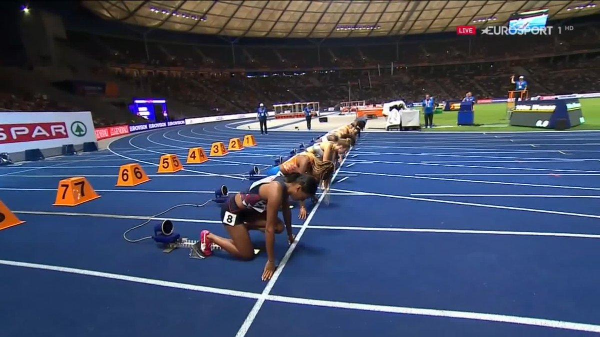 EK atletiek 2018: Dafne Schippers pakt brons op 100 meter