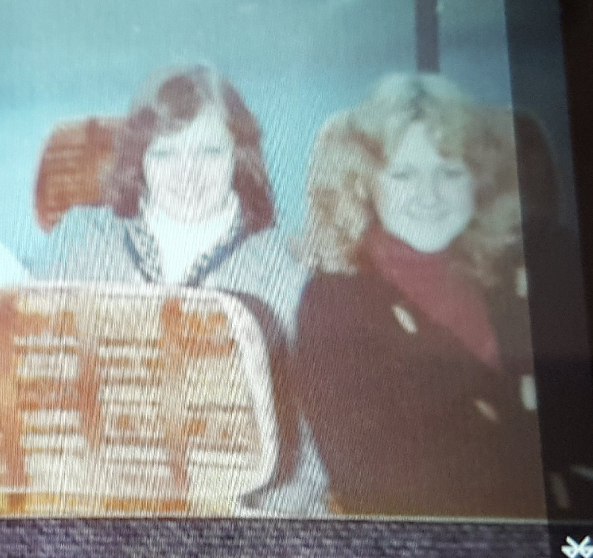 So...Tuesday teaser...guess who is sat next to me at the back of the coach misbehaving in 1976? Now @TeamRBCH #schooldays #exalumi #stilllookexactlythesameafteralltheseyears<br>http://pic.twitter.com/CLwrpXqyc6