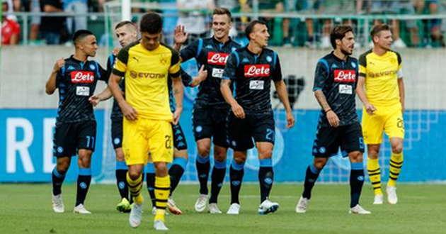 Il #Napoli si rialza subito: 3-1 al Dortmund. #Milik, Maksimovic e #Callejon firmano il tris http://dlvr.it/Qf7GN1  - Ukustom