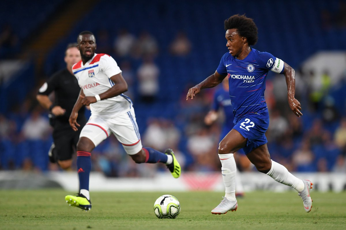 Image result for willian vs lyon