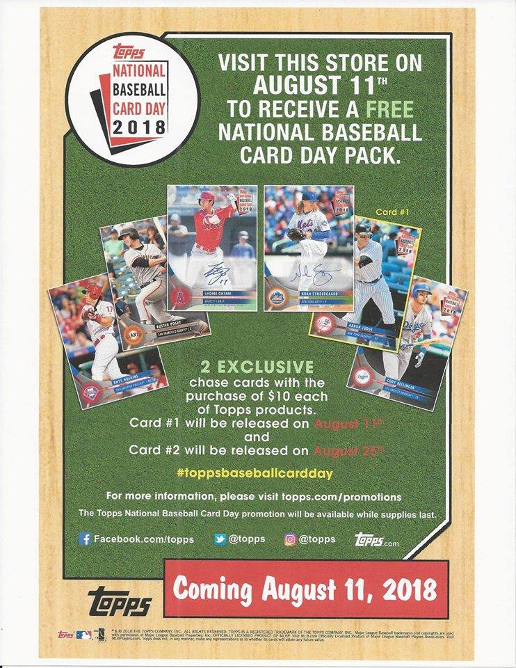 American Legends On Twitter This Saturday 811 Is At Topps