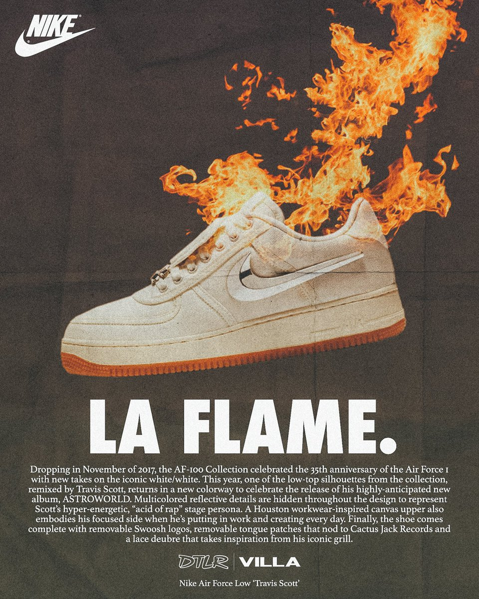 ... and online 08.11.18 to cop the Travis Scott Air Force 1 low  Sail !!!  You Don t want to miss this drop!!!  Select Stores  Only pic.twitter.com 9S5zarTn1j 861d7d230