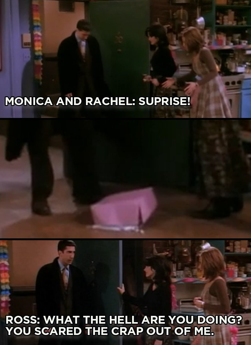 Everybody loves a good surprise.