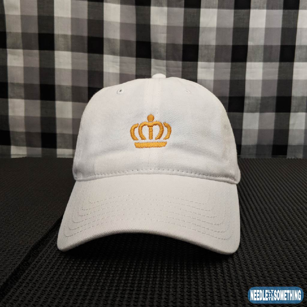 986cb5a2e6d ... crown hat that will let your kingdom know you are part of the Royal  Family!  Crown  Royal  Royal Family  Royalty  Regal  Noble  Nobility   Embroidered ...