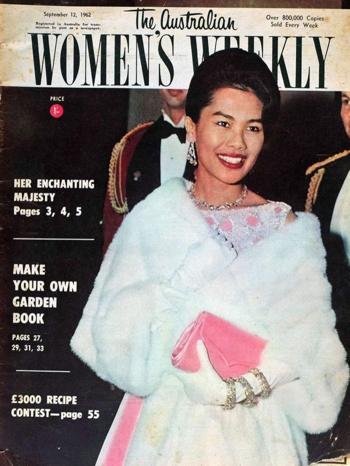 RT @RetroSiam: Queen Sirikit on Australian's Woman's Weekly 1962 #QueenSirikit #Thailand #RetroSiam https://t.co/ingxxXuo7R