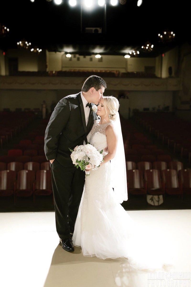c75bd17f645  weddingpictures  arkansasbride  theatrewedding  stellayorkbride   taylorhowardphotography  ArkansasBride  Collins Theatre  bridespic.twitter .com rgTUg3A1aD