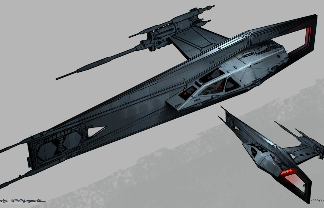 Concept Art For Tie Fighter