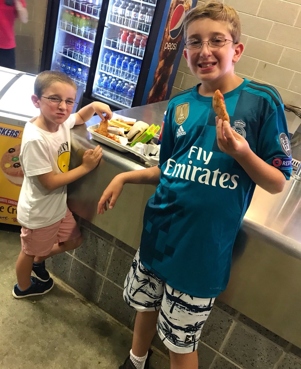 ... at  mlstadium!!  realmadrid v.  officialasroma is going to be amazing!  The boys can t wait!!  soccer  football  realmadrid  asroma  asroma1927   madrid ... fbeced416