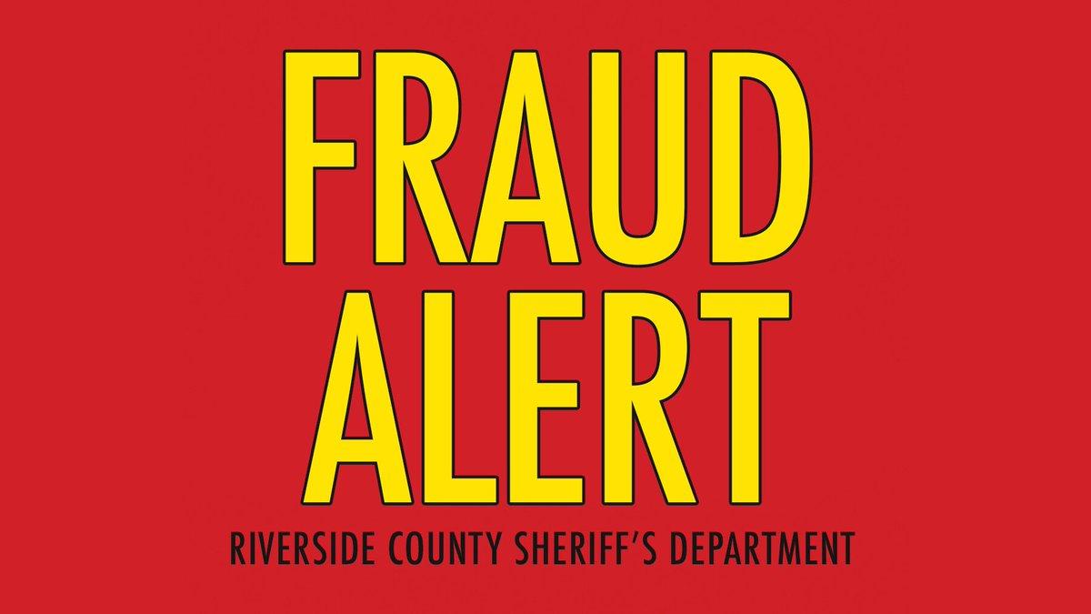 Riverside County Sheriff's Dept on Twitter: