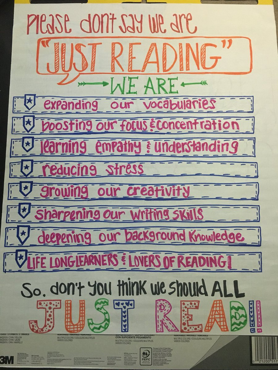 After Scholastic #Readingsummit &amp; my summer reading (#StrivingtoThriving &amp; #SparksInTheDark ) excited about my new poster for my students and visitors! @donalynbooks @TechNinjaTod @pernilleripp @Stephharvey49<br>http://pic.twitter.com/vn3yIzVkbS