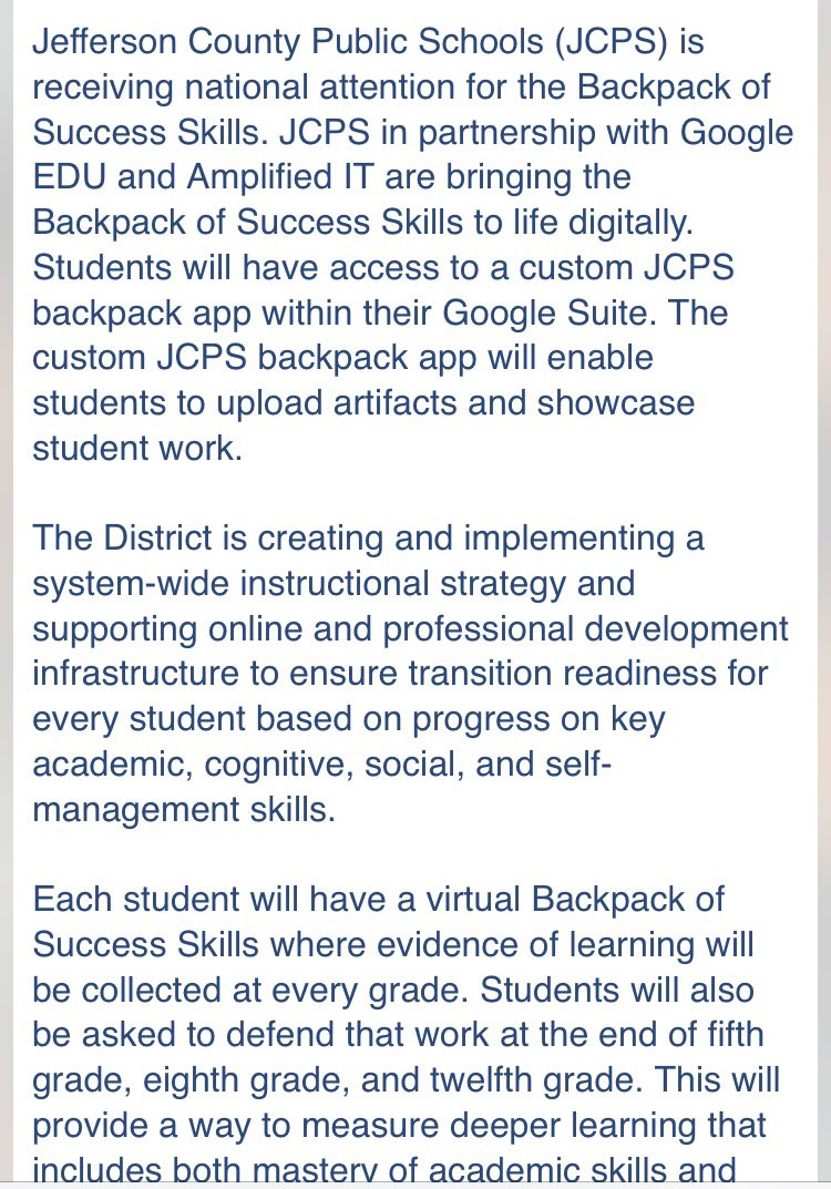 Here's more information on the colab between @JCPSKY and @Google! Pretty cool!