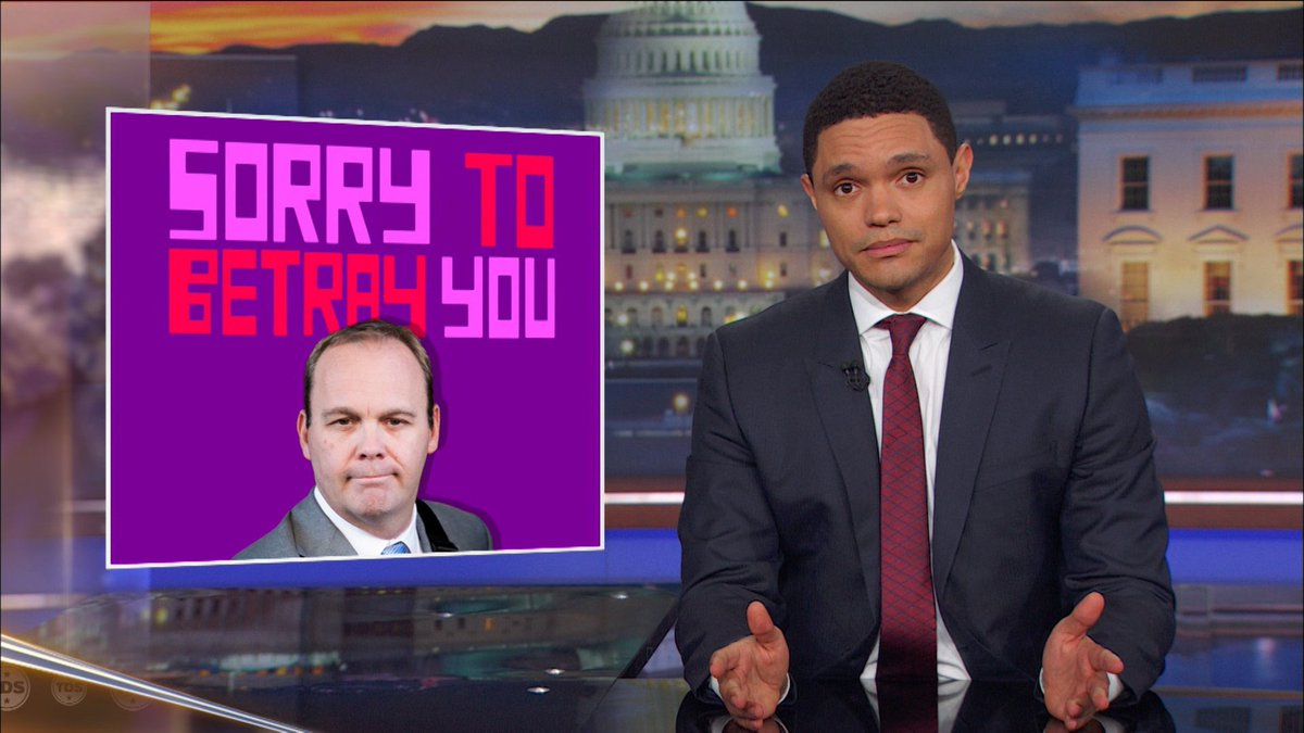 Trevor Noah: Why Paul Manafort Must Be So Proud