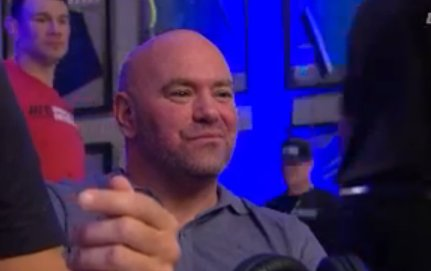 Greg Hardy KO&#39;s homie in 30 seconds and Dana White looks like a proud father. #DWTNCS<br>http://pic.twitter.com/3XPtzxoQ4B