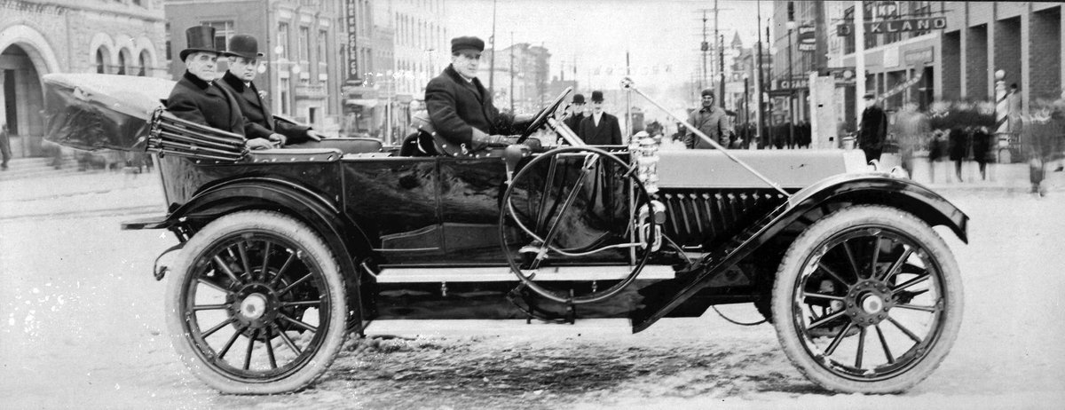 1911 : Chase Osborn, First Michigan Governor from the Upper Peninsula