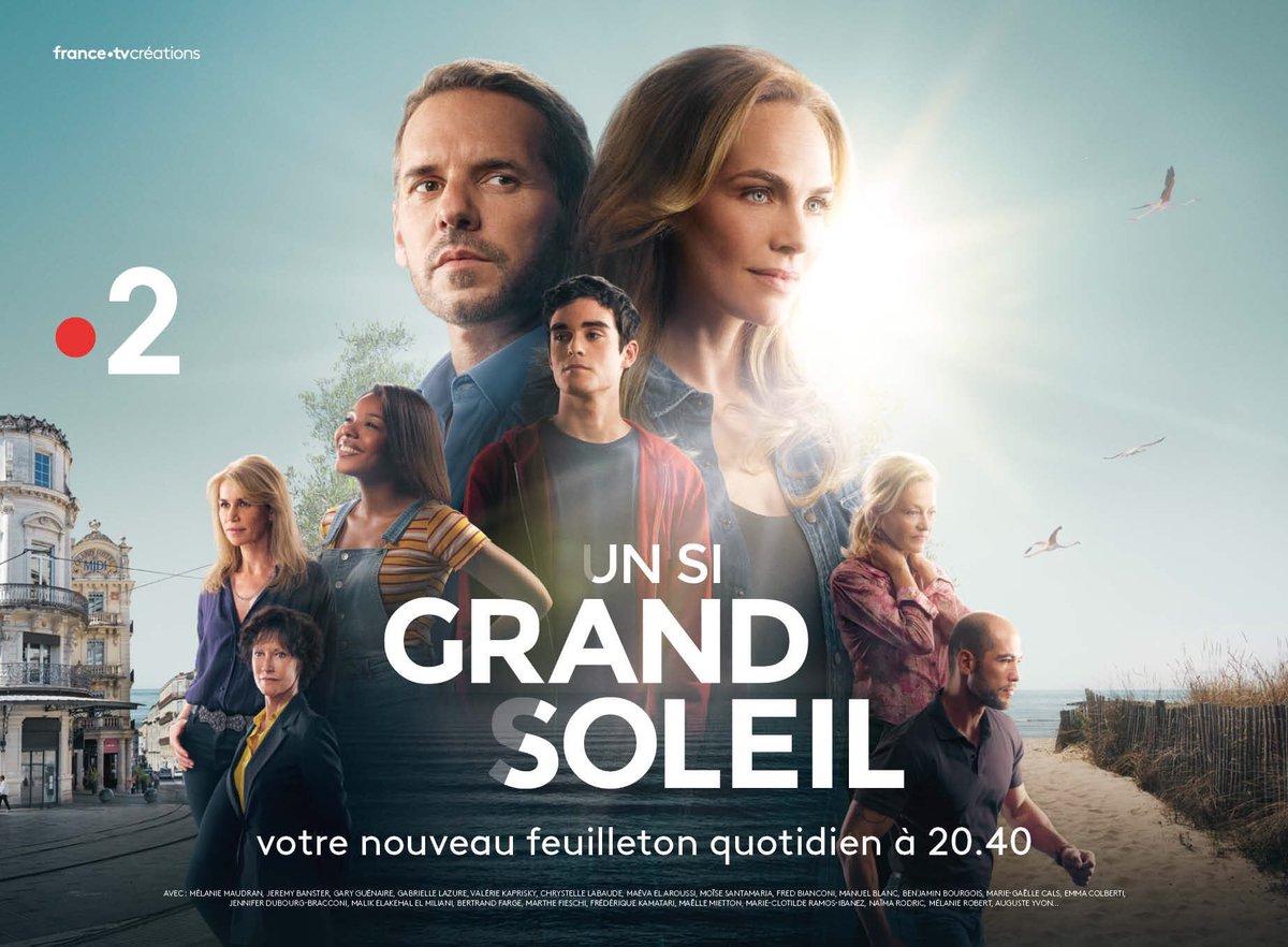 @France2tv fait sa rentrée le 25/8 avec #Joker, #VivementDimanche, #EnfantsDeLaTV, #CCA, #JTMetc, #AffaireConclue, #TLMASMAD, #NOPLP, JT 13h, 20h, Météo, Meurtres au paradis, AlexHugo et Petits meurtres. Nouveau : Basique et Un si #GrandSoleil Lu-Ve à 20h40 #UneSiBelleRentree  - FestivalFocus