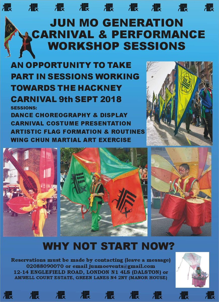 Join Jun Mo Generation Carnival & Performance Workshop Sessions