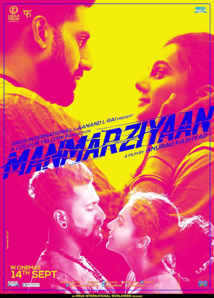Трейлер. Manmarziyaan (2018)