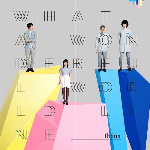 #Now Playingコメットルシファー ~The Seed and the Sower~ / fhana / Wha