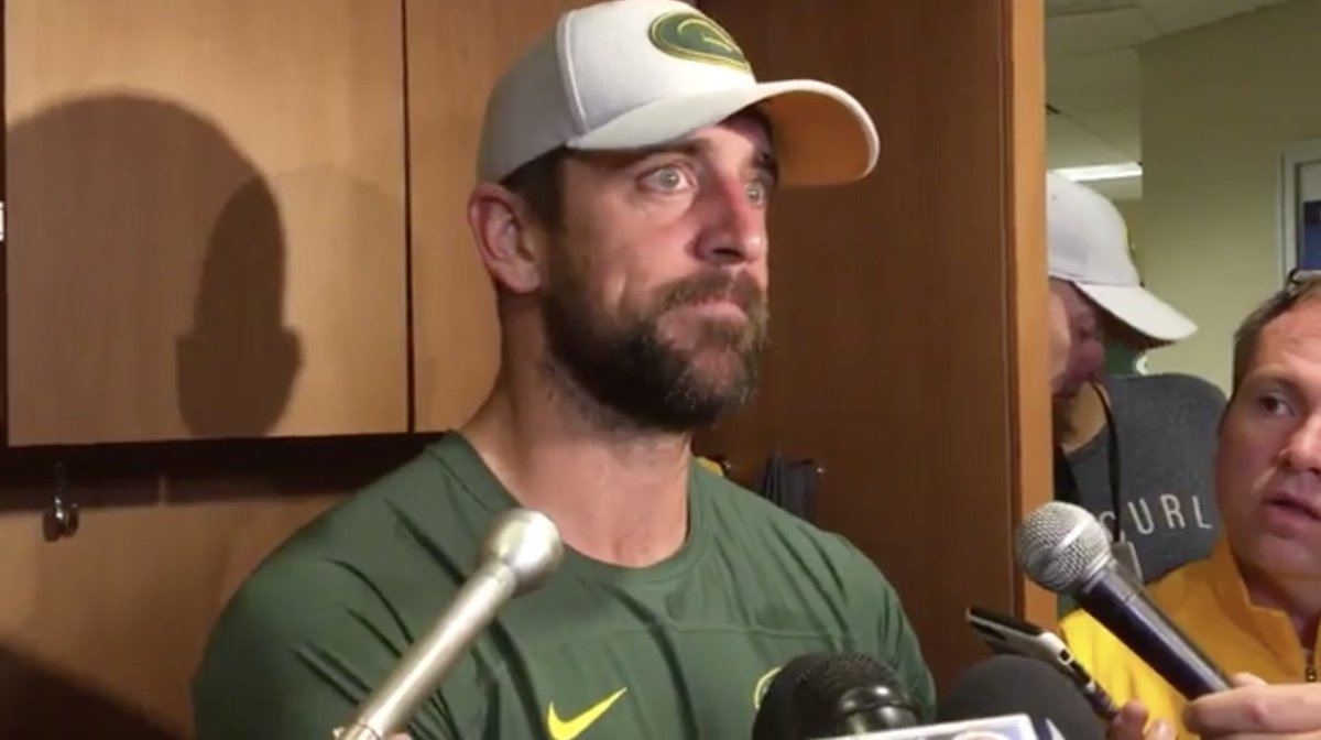 Allan Bell On Twitter You Better Get Your Head In The Game When Practicing With Aaron Rodgers And The Green Bay Packers What Kind Of Effort Did He See From His Young
