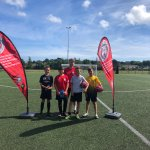 STRIKER CAMP SUCCESS ☀️⚽️  Well done to all players who came to our Striker Camp last week, lot's of goals scored in the sunshine! Our next Summer camp is taking place on Thurs 9th & Fri 10th Aug, for info click  ➡️   @cornwallfa #cornishfootball https://t.co/bRRg0aYzWM