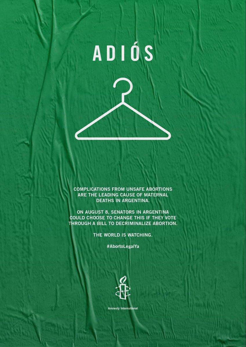 #AbortoLegalYa #AguanteArgentina