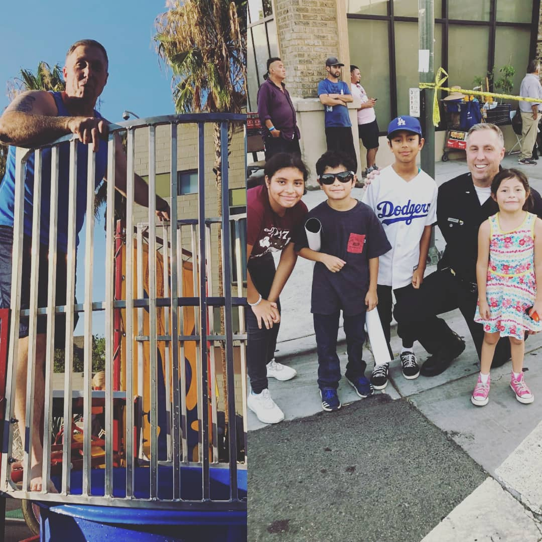 What an amazing evening with our communities in Hollenbeck! Here are a few pics you can enjoy! Shout out to Lt Whiteman for being in the dunk tank and Mago for always organizing the event! #NationalNightOut #Hollenbecklove #amazingnight #teamworkpic.twitter.com/qKjd7ncxw2