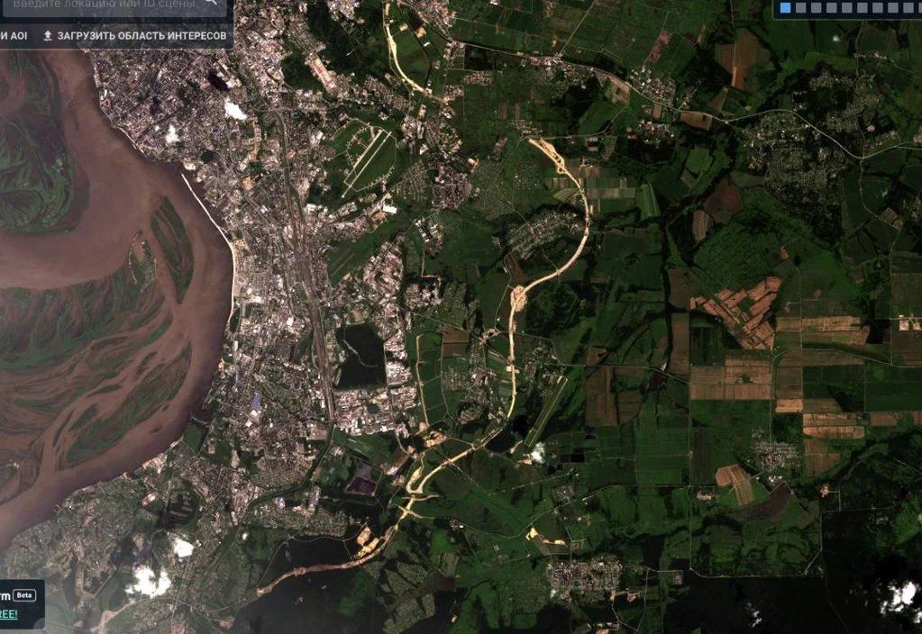 карта со спутника с фанагорийское фото