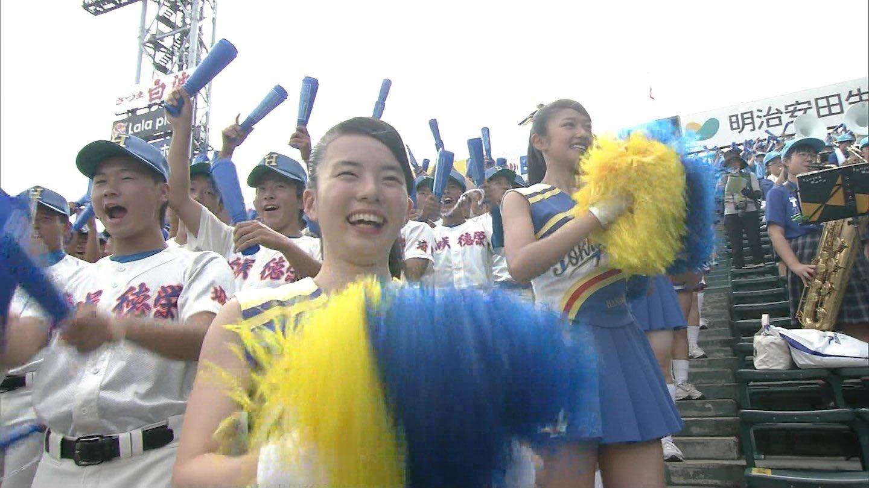 画像,去年もいたチア&脇#高校野球#チア#花咲徳栄 https://t.co/ZE1SVJlYRV。