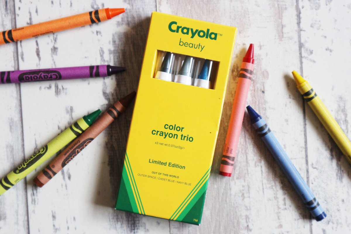 Would you like to try Crayola Beauty?! RT &amp; Follow for a chance to #win this Crayola makeup, exclusive to ASOS! Ends Fri 10th 11:59PM  #RTtoWin #WinIt #GiveawayAlert #giveaway #bbloggers #beautybloggers #lbloggers #fbloggers #winitwednesday #winwednesday<br>http://pic.twitter.com/rSYjTTuL9D