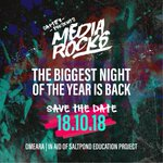**BIG ANNOUNCEMENT** Last years sell out event is back!! @Captify's #MediaRocks2018 will crown Europe's ultimate media band. Don't miss out on the biggest night in the media calendar. Ticket release coming soon.