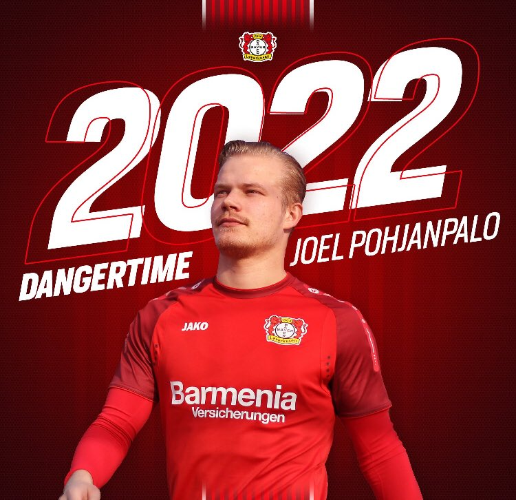 Maillot Extérieur Bayer 26 LeverkusenJoel Pohjanpalo